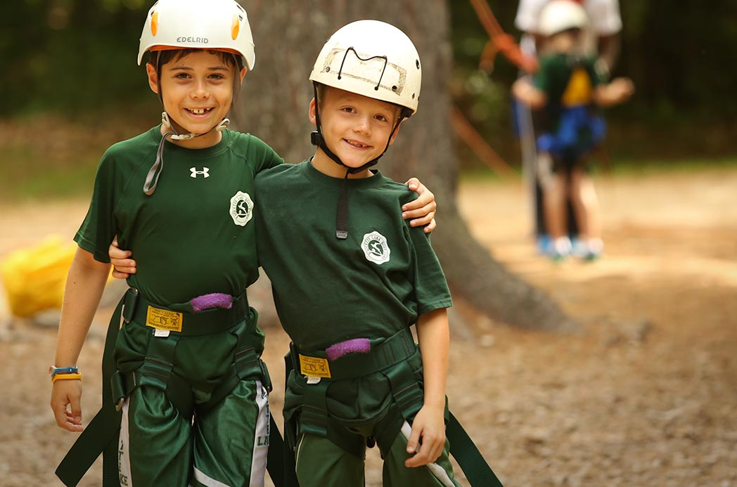 Climbers in Uniform