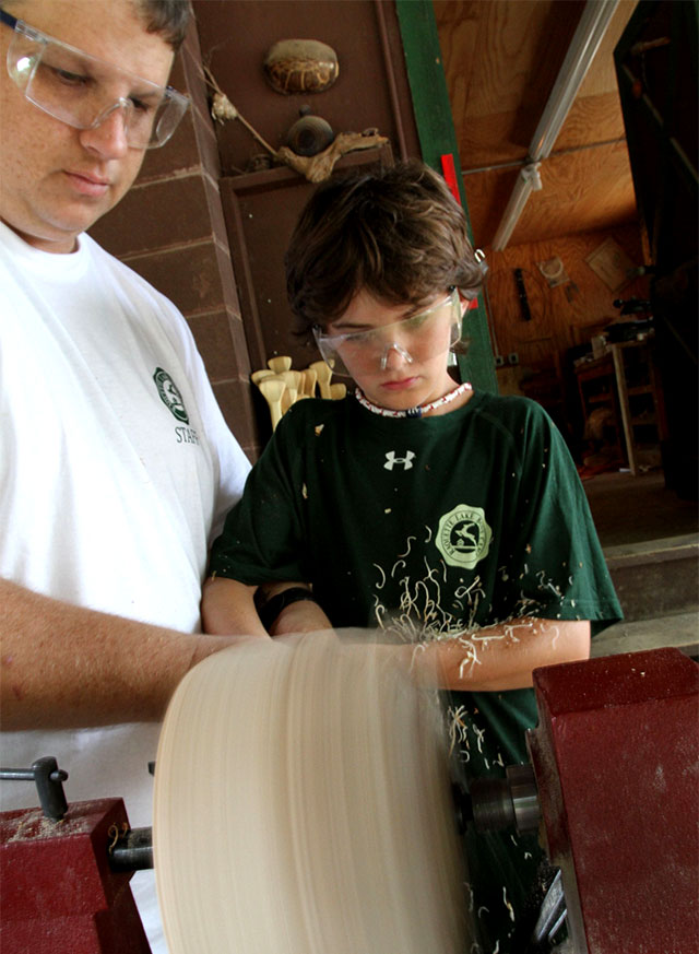 Learning the lathe