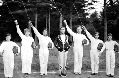 1920s Fencers