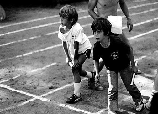 1970s Boys Running