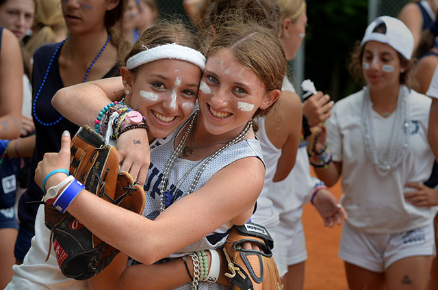 Two white baseball players